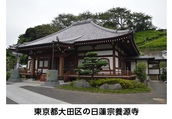 東京都大田区にある日蓮宗養源寺
