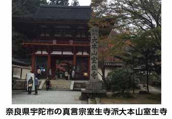 奈良県宇陀市の真言宗室生寺派大本山室生寺