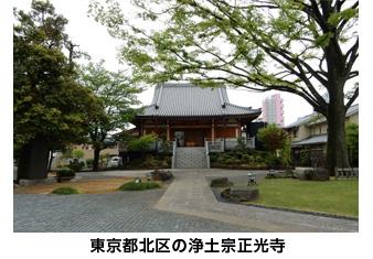 東京都北区の浄土宗正光寺